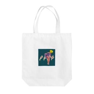 搾取ちゃん☆ Tote bags