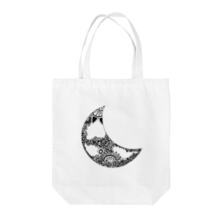 moon Tote bags