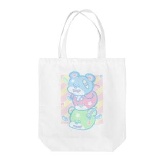 Sweet Bear Bear Bear Tote bags