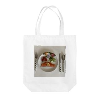 agepanbanchoのRaw food Tote bags