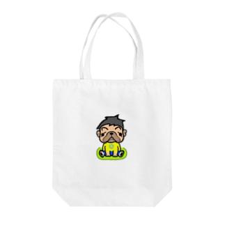 森くん Tote bags