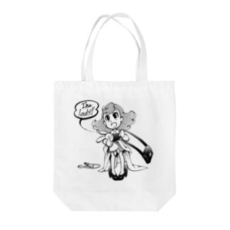 I'ma lady! Tote bags