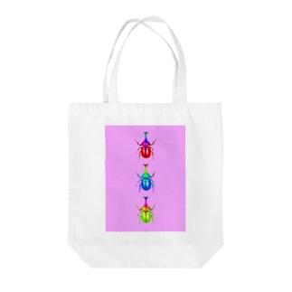 KABUTOmushi Tote bags