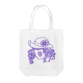 サカイナミの夏の乙女 4 Tote bags
