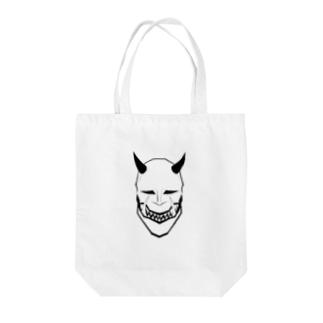 はむ (お仕事募集中DM受付)の鬼 Tote bags