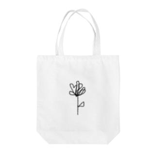TRオリジナルアートデザイン フラワー Tote bags