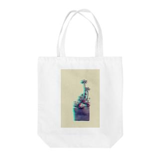 多肉植物 乙女心 スペクトル Tote bags