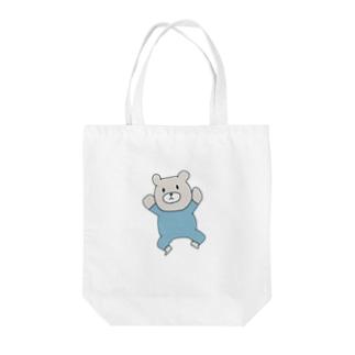 餅々のBaby Bear Tote bags