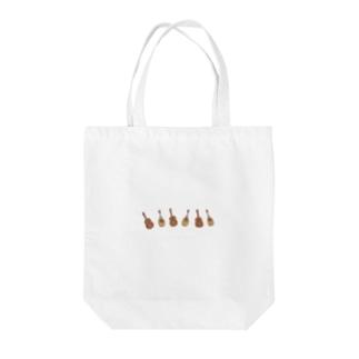 ちいさなマンドリンクラブ Tote bags
