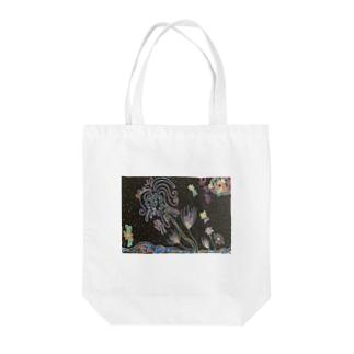 カイジュウのモニョモニョプラント Tote bags
