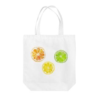シトラスフルーツ! Tote bags