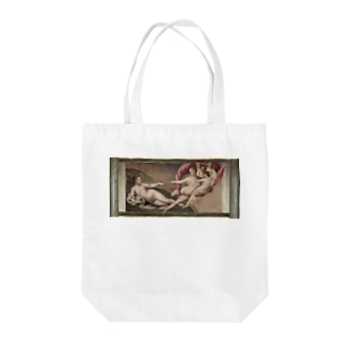 The Brand New Testament. Creation of Eve Tote bags