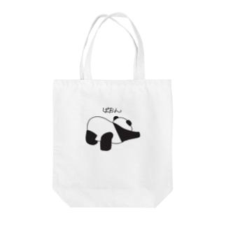 ぱおんなパンダ Tote bags