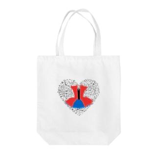 私こそ音楽❣️ Tote bags