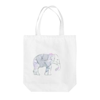 BIGエレファント Tote bags