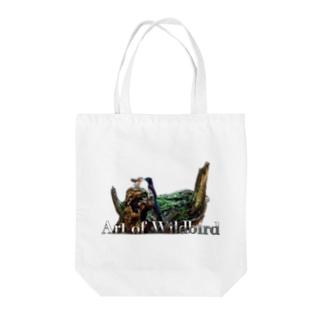 サンコウチョウ(白地用) Tote bags