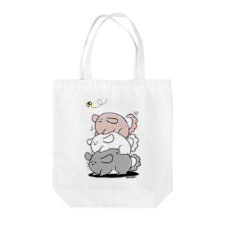 積みチラ(ゆるチラ) Tote bags