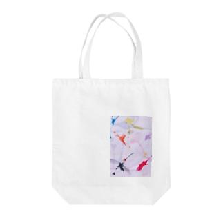 シナプス Tote bags
