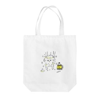脱力系シーズー・シャンプー編 Tote bags