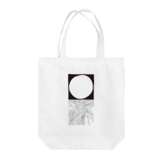 月とyuragi Tote Bag