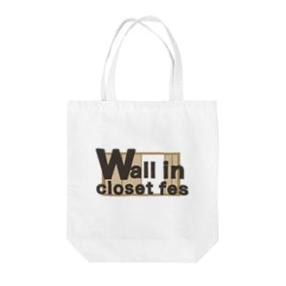 架空フェス wall in closet fes Tote bags