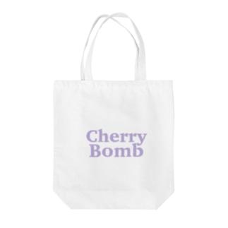 Cherry Bomb Tote bags