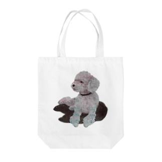 Suisui 切り抜き犬Ⅰ Tote bags