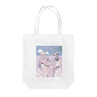 ♡ cafe ♡ Tote bags