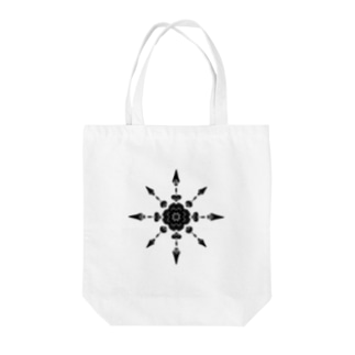 kaleidoscope Tote bags