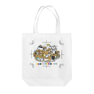 インキ缶ちゃんズ トートバッグ Tote bags