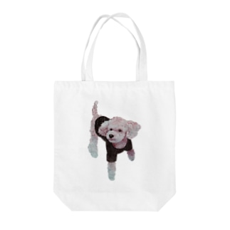 Suisui 切り抜き犬Ⅲ Tote bags