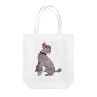 Suisui 切り抜き犬Ⅳ Tote bags