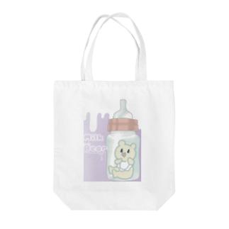 MilkBear Tote bags