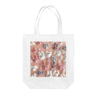 シュガーアニマル Tote bags