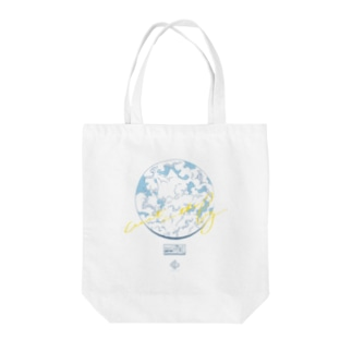 wait in the fog 夏っぽい Ver. Tote bags