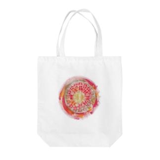 フトマニ(赤) Tote bags