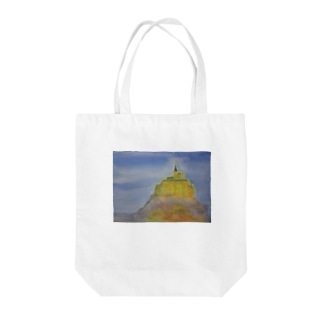 モンサンミッシェル Tote bags