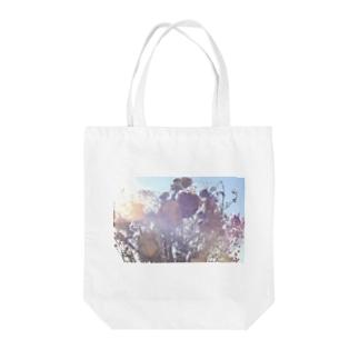 ドライフラワー  Tote bags