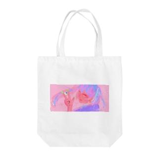 カトウちゃん Tote bags
