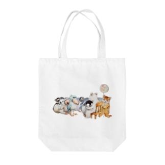 フリーハグ Tote bags