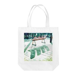 ベンチ Tote bags