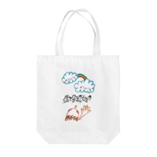 書〜空〜 Tote bags