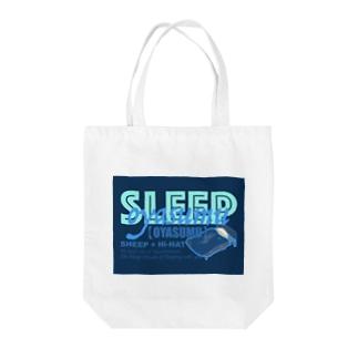 オヤスムトートバッグ✧*̣̩⋆̩☽⋆゜🐑 Tote bags