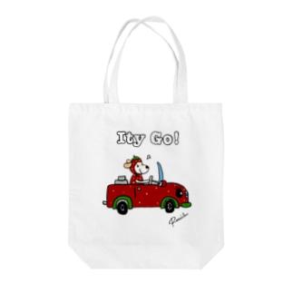 Ity go! いてぃごちゃん Tote bags