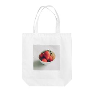 淡いいちご Tote bags