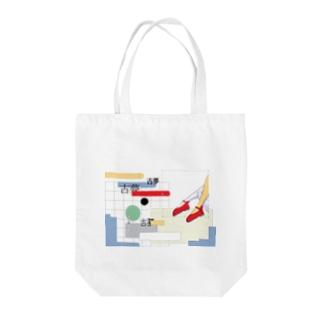 プールサイドトート バッグ Tote bags