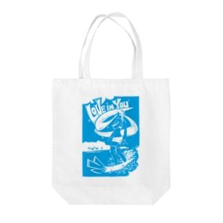 ミクたん Love in You Tote bags
