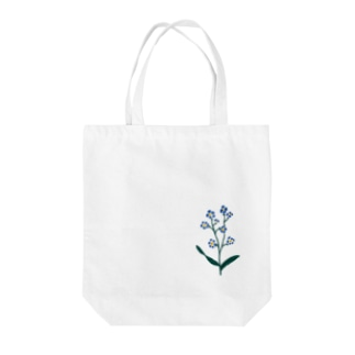 forget me not. Tote bags