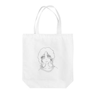 オンナノコ Tote bags