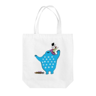 Hidesato&Doumeki Shopの秀郷&どうめき/かたぐるま Tote bags